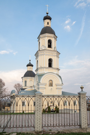 sobor: Pokrovsky Arhiereiskii Sobor: 250 years old Stock Photo