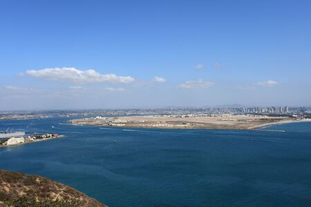 View on San Diego from Point Loma. Picture taken on October 2009 photo
