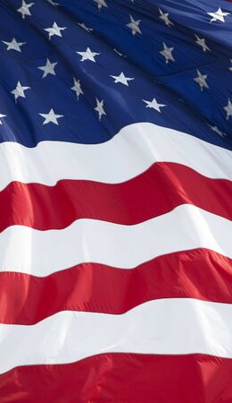 the americas: Part of American waving flag