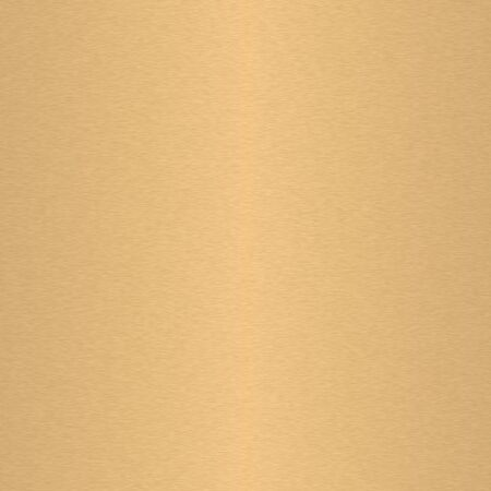 brushed aluminium: Gold brushed metal plate texture Stock Photo
