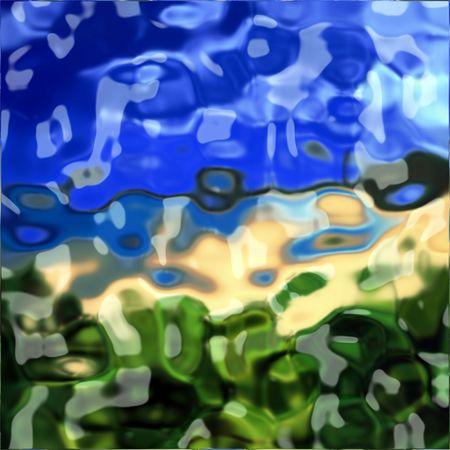 Chrome metal background texture