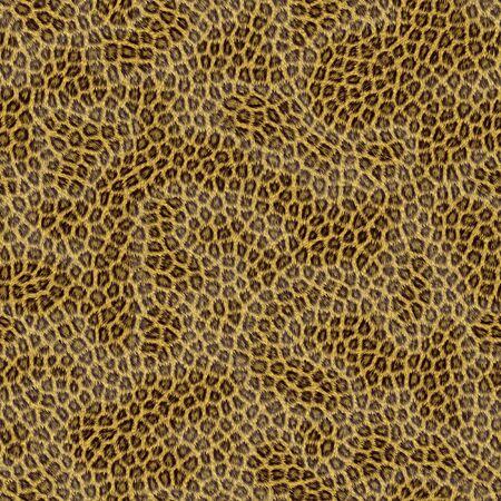 Illustration of Leopard fur