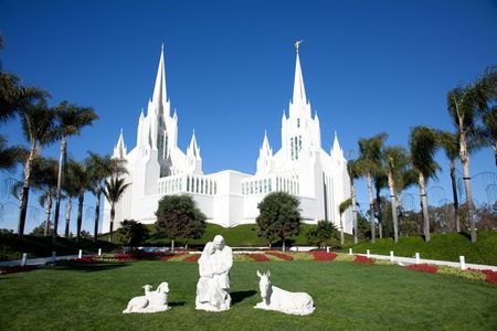 lds: Temple of The Church of Jesus Christ of Latter-Day Saints (LDS) or Mormons in San Diego