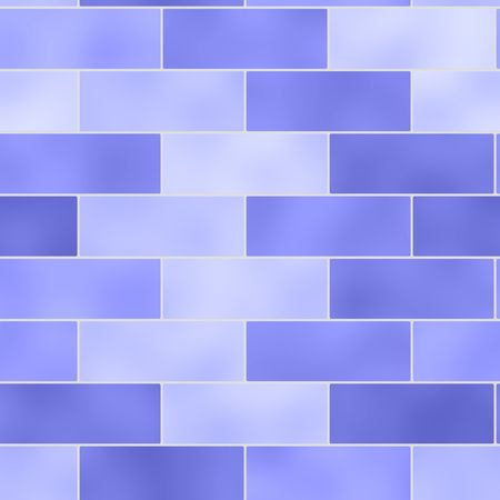 Brick wall seamless background illustration Stock Illustration - 6646635
