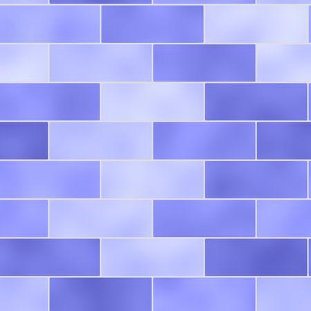 Brick wall seamless background illustration Stock Illustration - 6646635