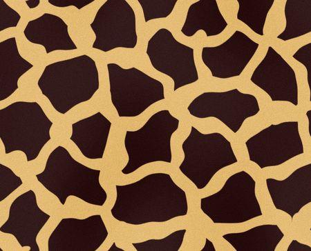 giraffe skin: Illustration of giraffe fur, seamless