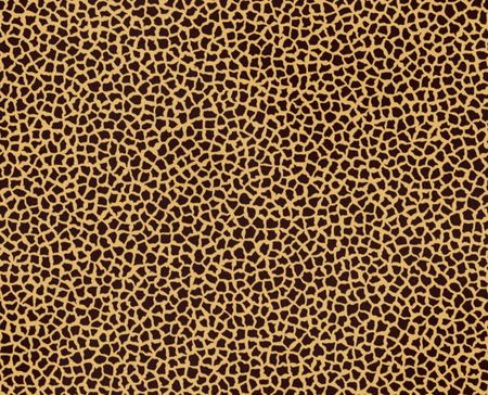 Illustration of giraffe fur, seamless