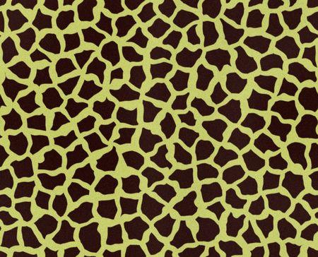 Illustratie van een giraffe bont, naadloze
