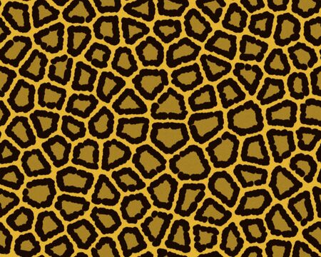 Illustration of leopard fur, seamless (more in my collection)