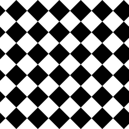 diagonal lines: Seamless black and white vivid pattern background Stock Photo