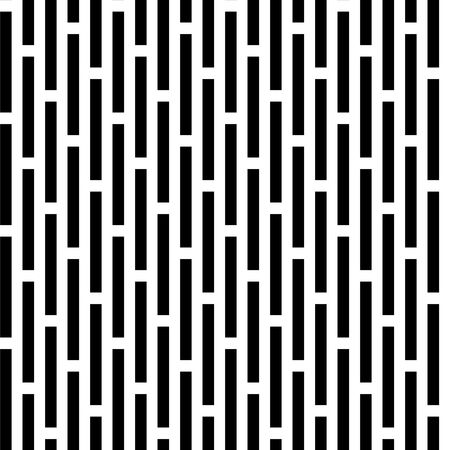Seamless black and white vivid pattern background Stock Photo