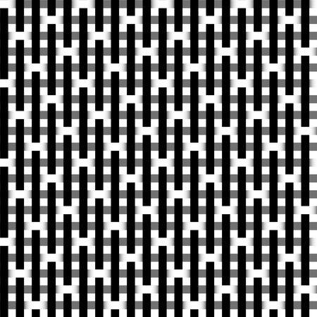 Seamless black and white vivid pattern background photo