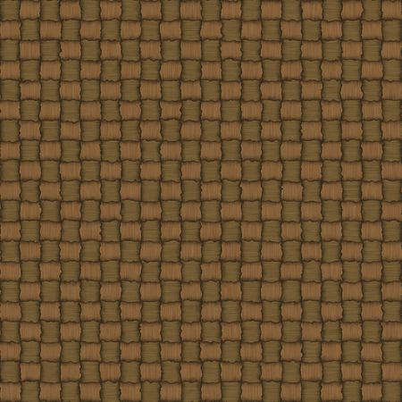 Seamless texture of intertwined color strings
