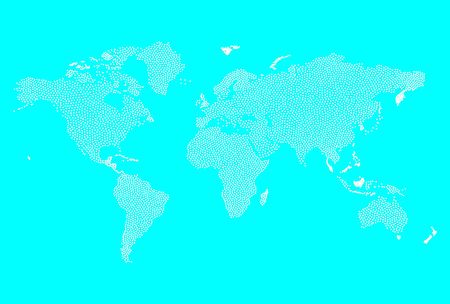 World Map illustration Stock Illustration - 6764079