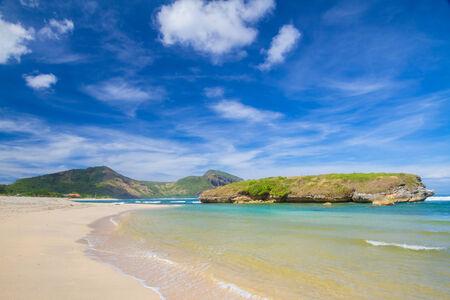 Oceand Landscape at Sun Day. Sumbawa Island. Indonesia.