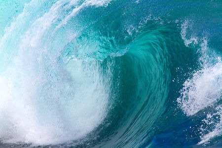 tsunami wave: Picture of Ocean Wave. Indian Ocean. Stock Photo