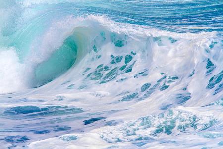 Picture of Ocean Wave. Indian Ocean. Stock Photo