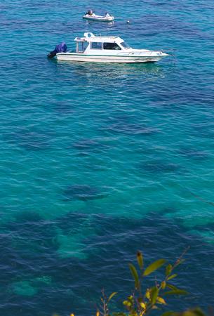 ocean view: Coastline of Lembongan island.Indonesia.