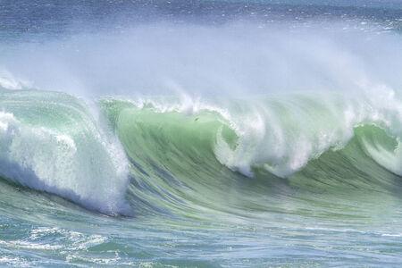 Ocean Wave in Indian Ocean. Stock Photo