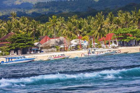 coastline: Tropical Coastline of Lembongan island.Indonesia.