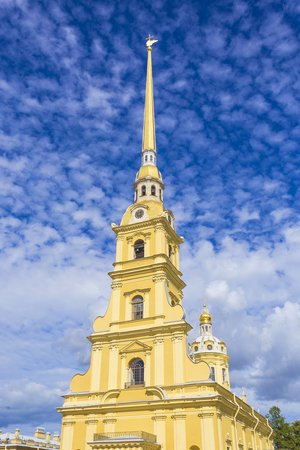 appearance: russia, peter, paul, tower, cathedral, white, travel, christian, spb, landmark, culture, petersburg, leningrad, history, postal, saint, bell, angel, magnificent, pinnacle, building, fortress, town-scape, church, admire, unesco, appearance, saintly, high,