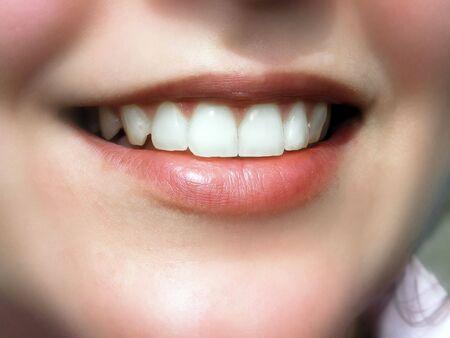 美しい笑顔. 写真素材