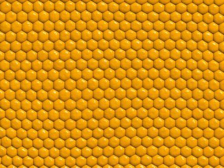 Honey comb background... Stock Photo