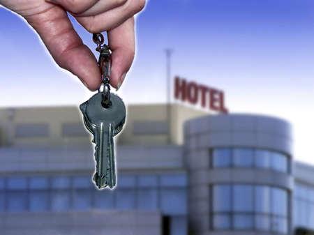 Hotel keys photo