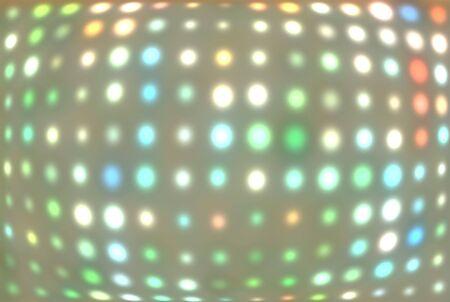 Disco lights illustration illustration