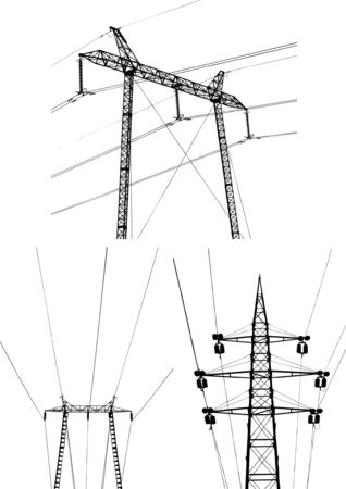 Electric plant vector