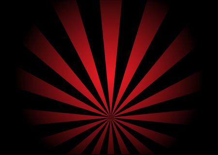 赤で示したベクトル旋回