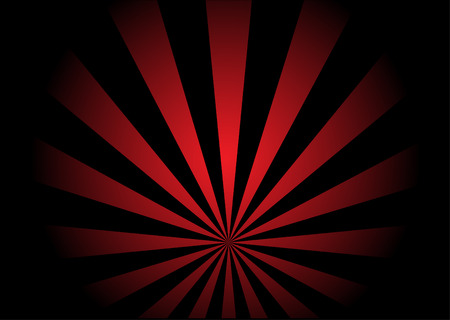 Red vector swirl Illustration