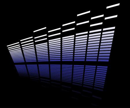 LED analyzer Illustration