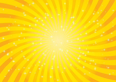 Orange burst Illustration