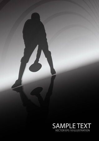 American football sport background - Sport vector background