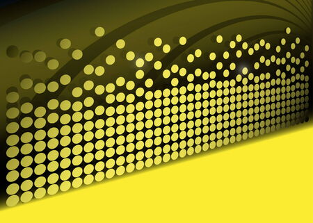 doted: Modern vector doted background - Dots on vector pseudo 3D surface
