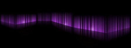 lighted: Dark vector purple scene on reflective surface - Dark purple background illustration