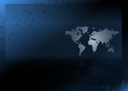 世界地図ベクトル デザイン テンプレート - ベクトル web レイアウト図