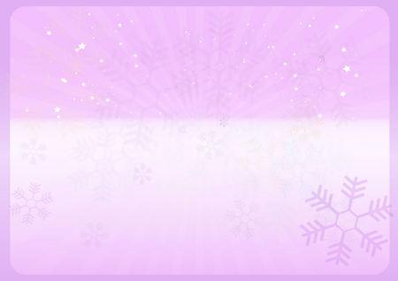 ilustration: Christmas vector background web template - Vector winter background ilustration
