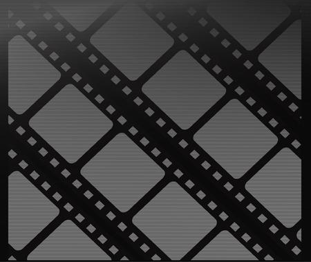 フィルム ベクトル背景テンプレート - 映画の背景ベクトル デザイン illustation  イラスト・ベクター素材
