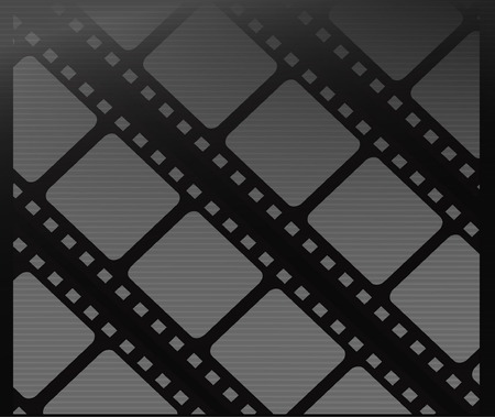 illustation: Film vector background template - Cinema background vector design illustation