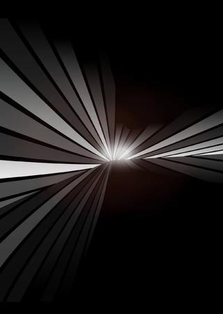 Vector abstract dark background scene - Vector dark background illustration Illustration