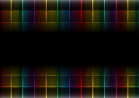 rainbow slide: Colorful vector web template