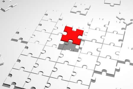 Finish the puzzle background - finishing business game