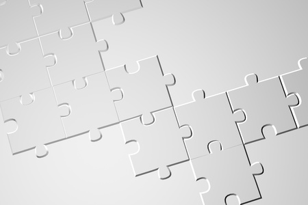 Puzzle modern high definition background - high resolution puzzle background illustration  Stock Photo