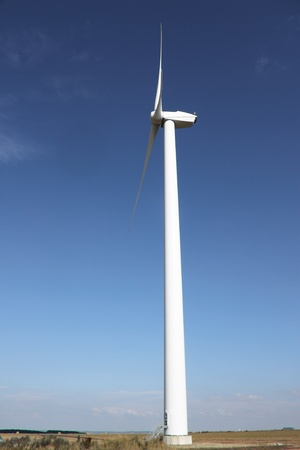 Wind generator field - outdoor renewable resource  photo