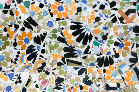 trencadis: Mosaico de Antoni Gaud� funciona desde Barcelona