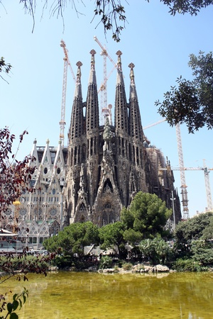Sagrada Familia of Barcelona