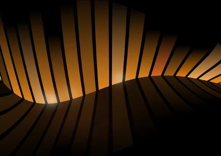 Dark orange color space - Background space illustration Stock Vector - 8753238