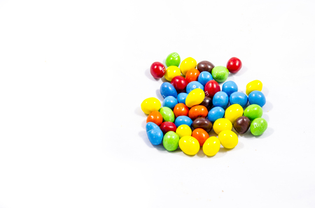 round hard candy with lots of collers something fun to think about Фото со стока